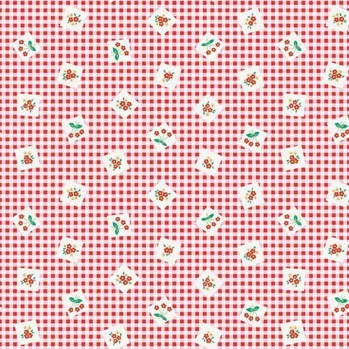 Penny Rose Fabrics ~ Apple Farm ~ Picnic Red
