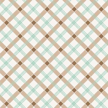 Penny Rose Fabrics ~ Apple Farm ~ Plaid Brown