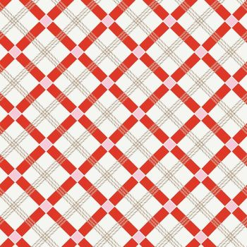 Penny Rose Fabrics ~ Apple Farm ~ Plaid Red