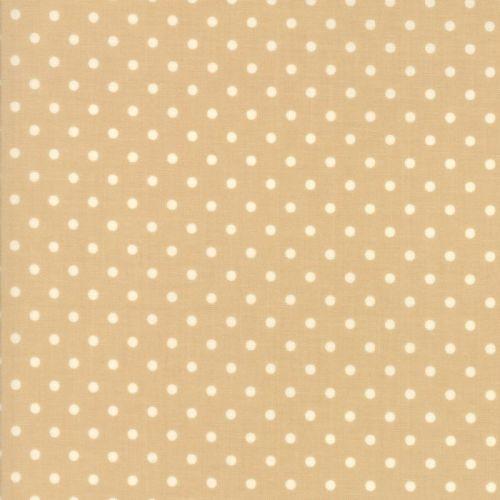 Moda Fabrics ~ Chestnut Street ~ Polka Dot Chestnut