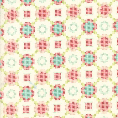 Moda Fabrics ~ Handmade ~ Cross Stitch Cream