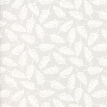 Moda Fabric ~ Whispers Muslin Mates ~ Float Feather