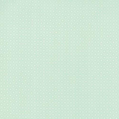 Moda Fabrics ~ Bumble Berries ~ Diamond Dots Mint