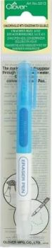 Clover Chacopen Blue with Eraser (Water Erasable)