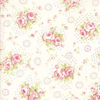 Moda Fabric ~ Fleurs ~ Petite Bouquet Linen