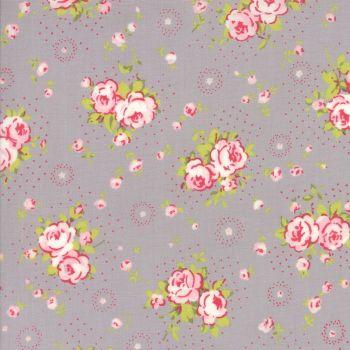 Moda Fabric ~ Fleurs ~ Petite Bouquet Pebble