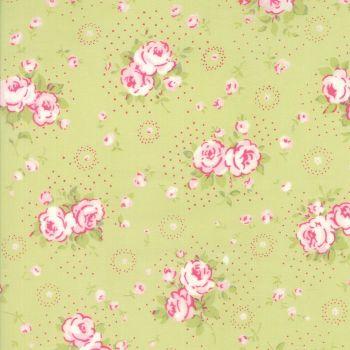 Moda Fabric ~ Fleurs ~ Petite Bouquet Sprout