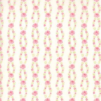 Moda Fabric ~ Fleurs ~ Fleur Stripe Linen