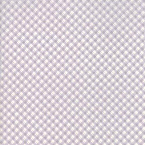 Moda Fabric ~ Fleurs ~ Pinstripe Gingham Pebble