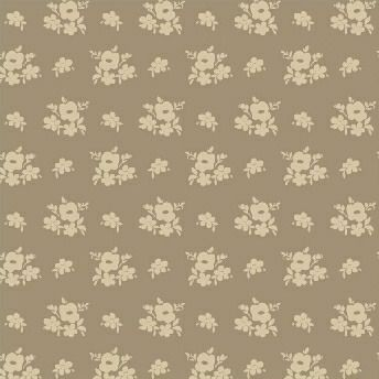 Windham Fabrics ~ Elm Cottage ~ Floral Brown