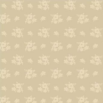 Windham Fabrics ~ Elm Cottage ~ Floral Cream