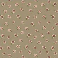 Windham Fabrics ~ Elm Cottage ~ Mini Floral Brown