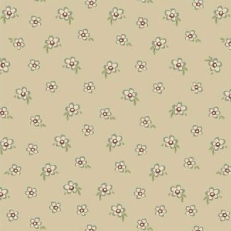 Windham Fabrics ~ Elm Cottage ~ Mini Floral Cream