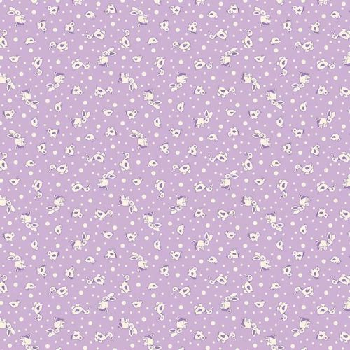 Penny Rose Fabrics ~ Toy Chest 2 ~ Animals Purple
