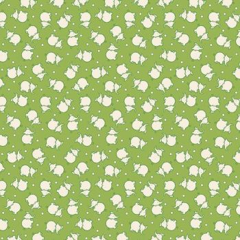 Penny Rose Fabrics ~ Toy Chest 2 ~ Elephant Green