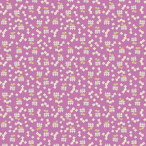 Penny Rose Fabrics ~ Toy Chest 2 ~ Floral Purple