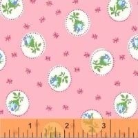 Windham Fabrics ~ First Blush ~ Spray Rose Pink