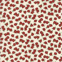 Moda Fabrics ~ Hop, Skip and a Jump ~ Bashful Blossoms Cherry