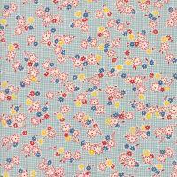 Moda Fabrics ~ Hop, Skip and a Jump ~ Playful Posies Sky