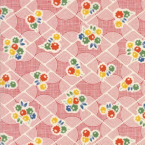 Moda Fabrics ~ Hop, Skip and a Jump ~ Recess Cherry