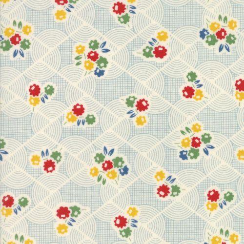 Moda Fabrics ~ Hop, Skip and a Jump ~ Recess Sky