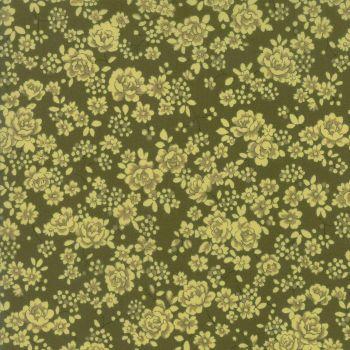 Moda Fabric ~ Regent Street Lawns ~ Claremount Dark Green