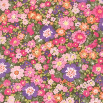 Moda Fabric ~ Regent Street Lawns ~ Hampton Court Dark Green