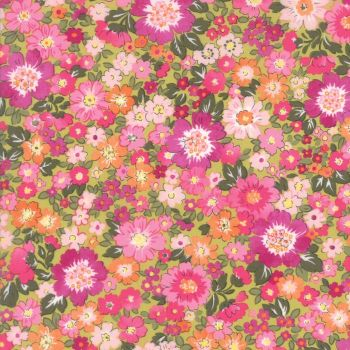 Moda Fabric ~ Regent Street Lawns ~ Hampton Court Leaf Green