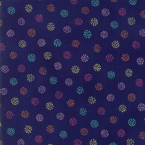 Moda Fabric ~ Regent Street Lawns ~ Savill Navy