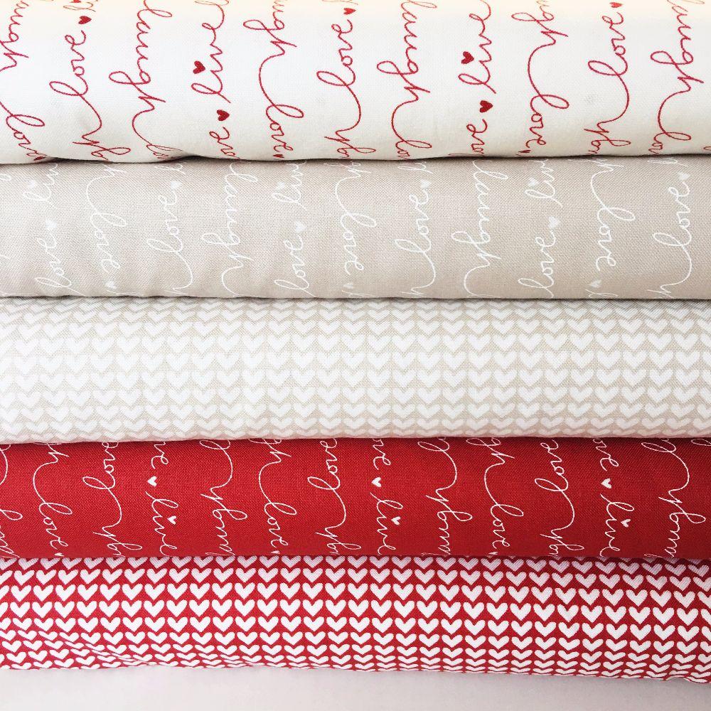 Moda Fabric ~ #LOVE