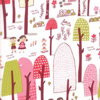 Moda Fabric ~ Just Another Walk in the Woods ~ Forest Dark