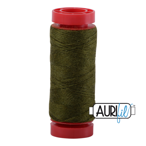 Aurifil ~ 12 wt Lana Wool ~ 8950 ~ Light Olive