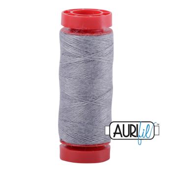 Aurifil ~ 12 wt Lana Wool ~ 8081 ~ Heathered Marble Grey
