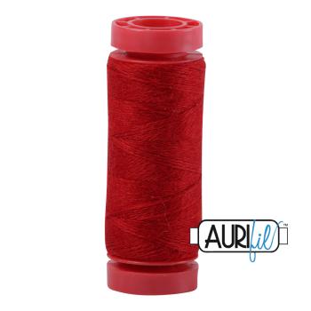 Aurifil ~ 12 wt Lana Wool ~ 8225 ~ Red