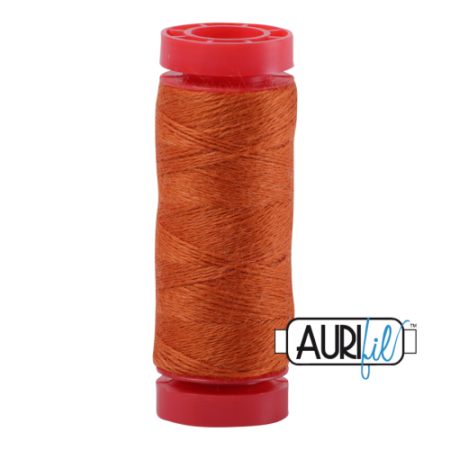 Aurifil ~ 12 wt Lana Wool ~ 8240 ~ Orange Spice