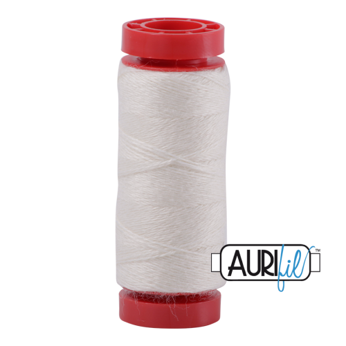Aurifil ~ 12 wt Lana Wool ~ 8328 ~ Off White