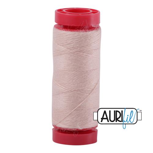 Aurifil ~ 12 wt Lana Wool ~ 8405 ~ Pale Peachy Pink