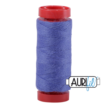 Aurifil ~ 12 wt Lana Wool ~ 8525 ~ Bluer than Blue