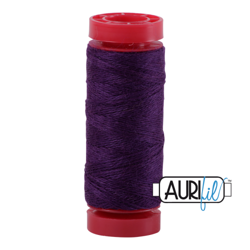 Aurifil ~ 12 wt Lana Wool ~ 8551 ~ Purple
