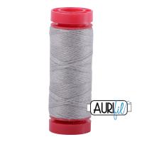 Aurifil ~ 12 wt Lana Wool ~ 8605 ~ Grey