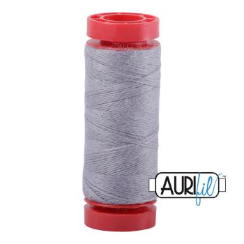 Aurifil ~ 12 wt Lana Wool ~ 8608 ~ Cloud Grey