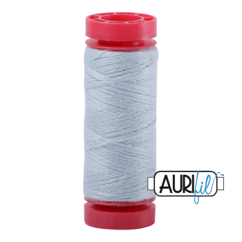 Aurifil ~ 12 wt Lana Wool ~ 8745 ~ Ice Blue