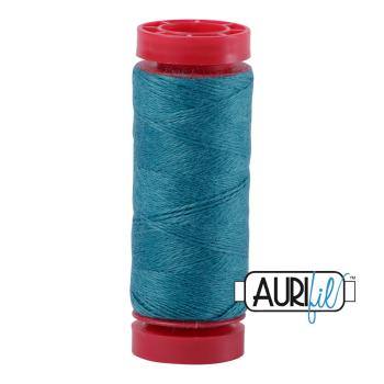 Aurifil ~ 12 wt Lana Wool ~ 8850 ~ Peacock