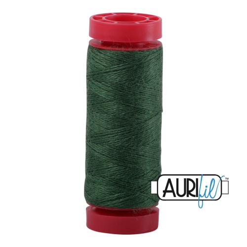 Aurifil ~ 12 wt Lana Wool ~ 8897 ~ Dark Green