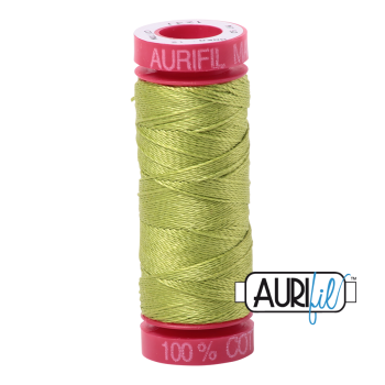 Aurifil ~ 12 wt Cotton ~ 1231 ~ Spring Green