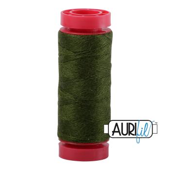 Aurifil ~ 12 wt Lana Wool ~ 8960 ~ Olive
