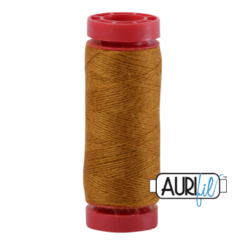 Aurifil ~ 12 wt Lana Wool ~ 8140 ~ Gold