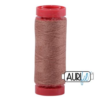 Aurifil ~ 12 wt Lana Wool ~ 8344 ~ Dark Taupe