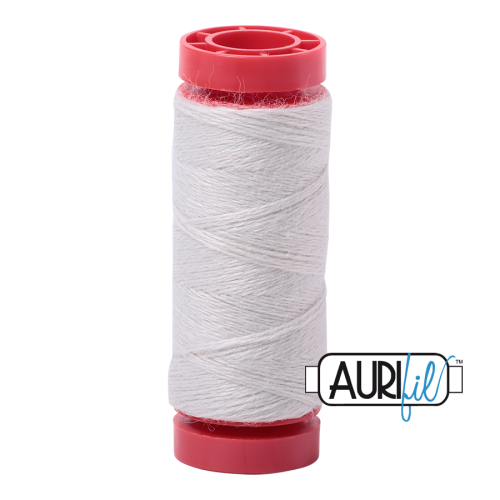 Aurifil ~ 12 wt Lana Wool ~ 8600 ~ Antique White