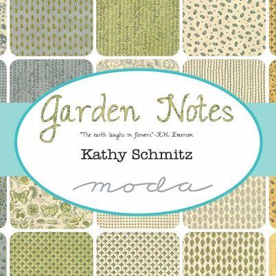 Moda Fabric ~ Garden Notes